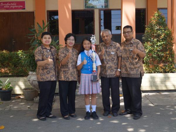 Siswa SD Masehi Juara