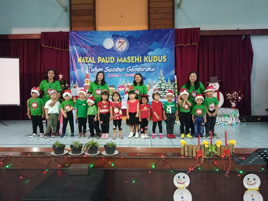 Kebaktian Natal PAUD Masehi
