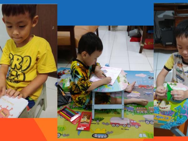 Melihat Sisi Positif Belajar Online di PAUD (KB & TK) Masehi