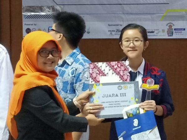Juara 3 Lomba Matematika LSM XXVIII UNY