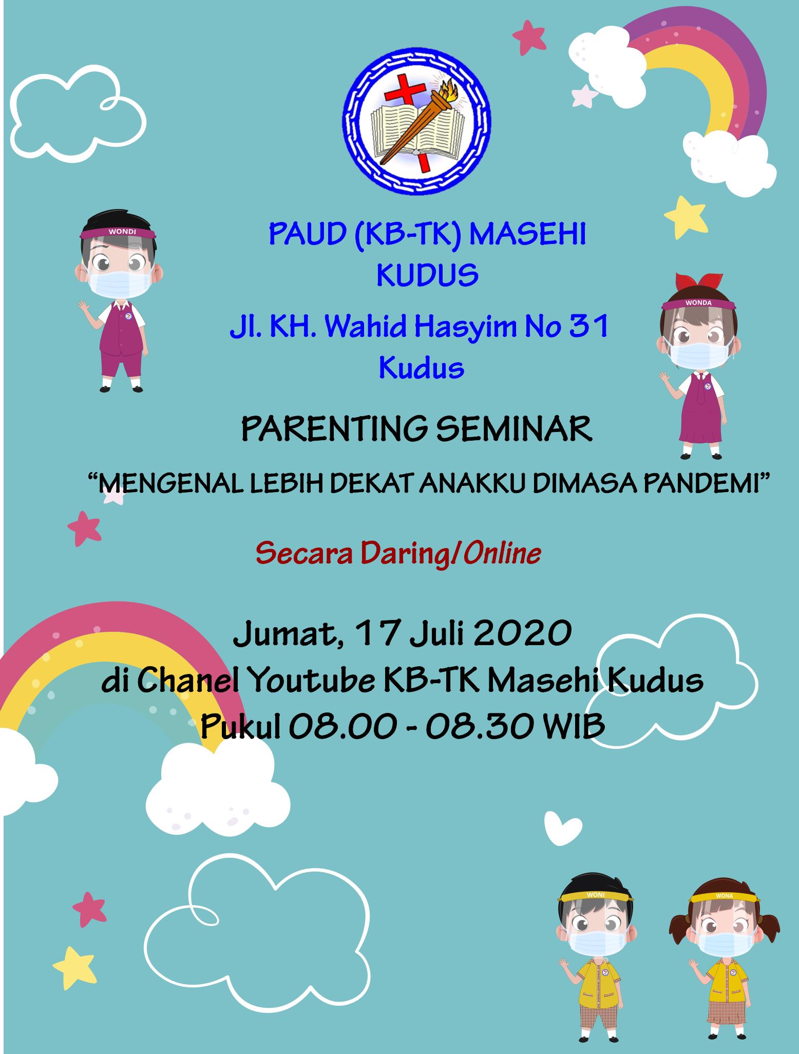 Parenting PAUD Masehi