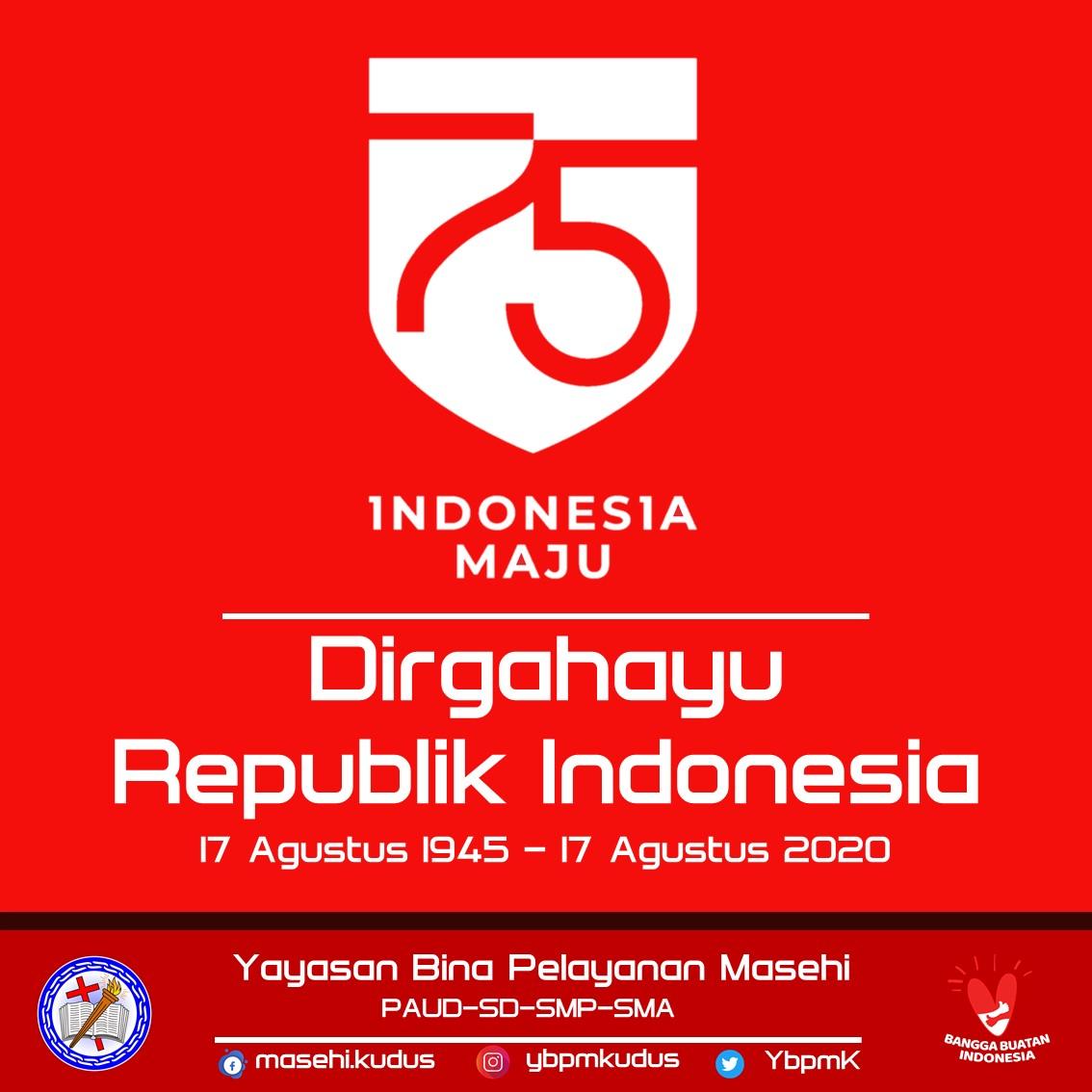 Selamat Hari Ulang Tahun Kemerdekaan RI 75