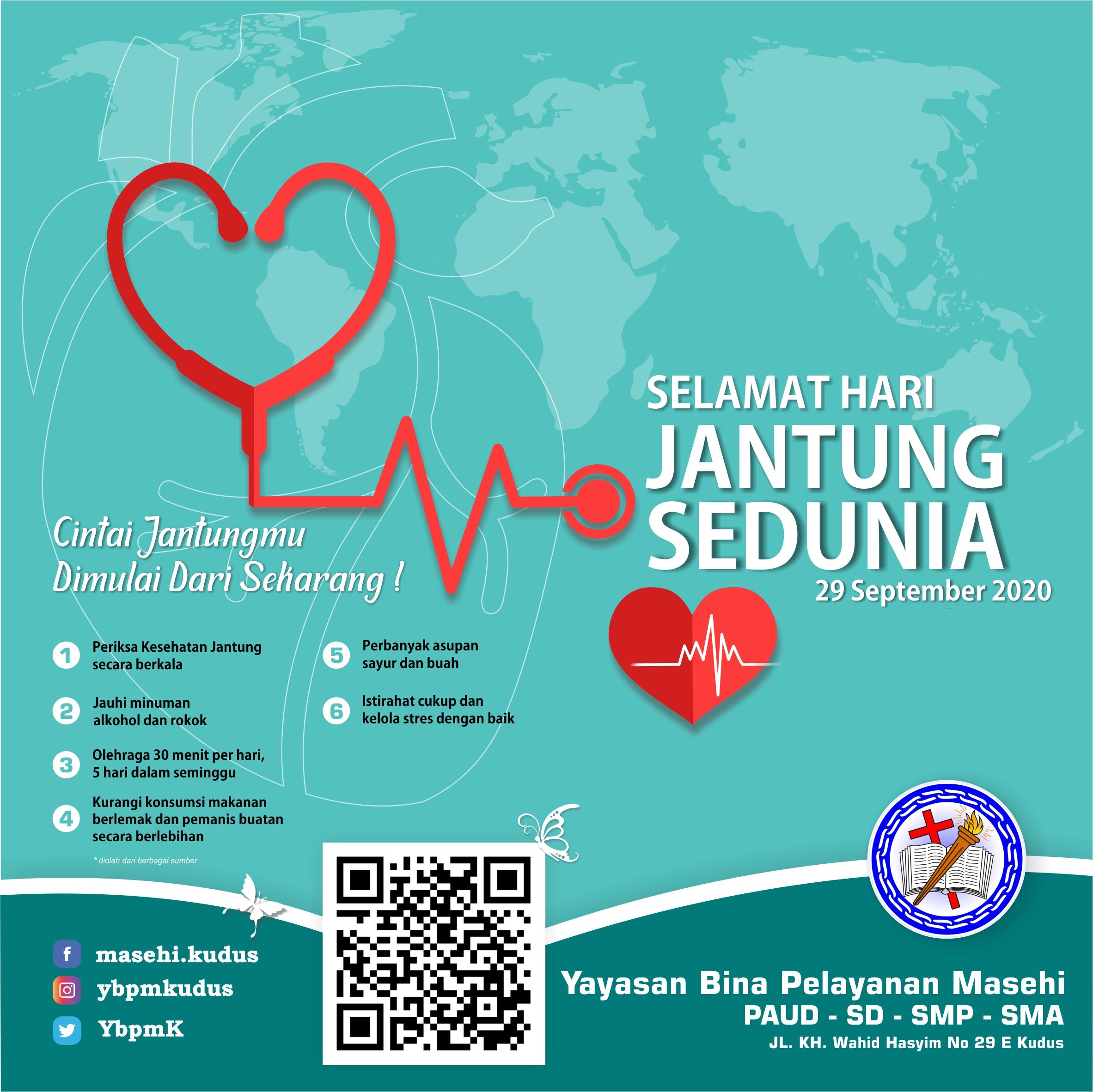 Selamat Hari Jantung Sedunia
