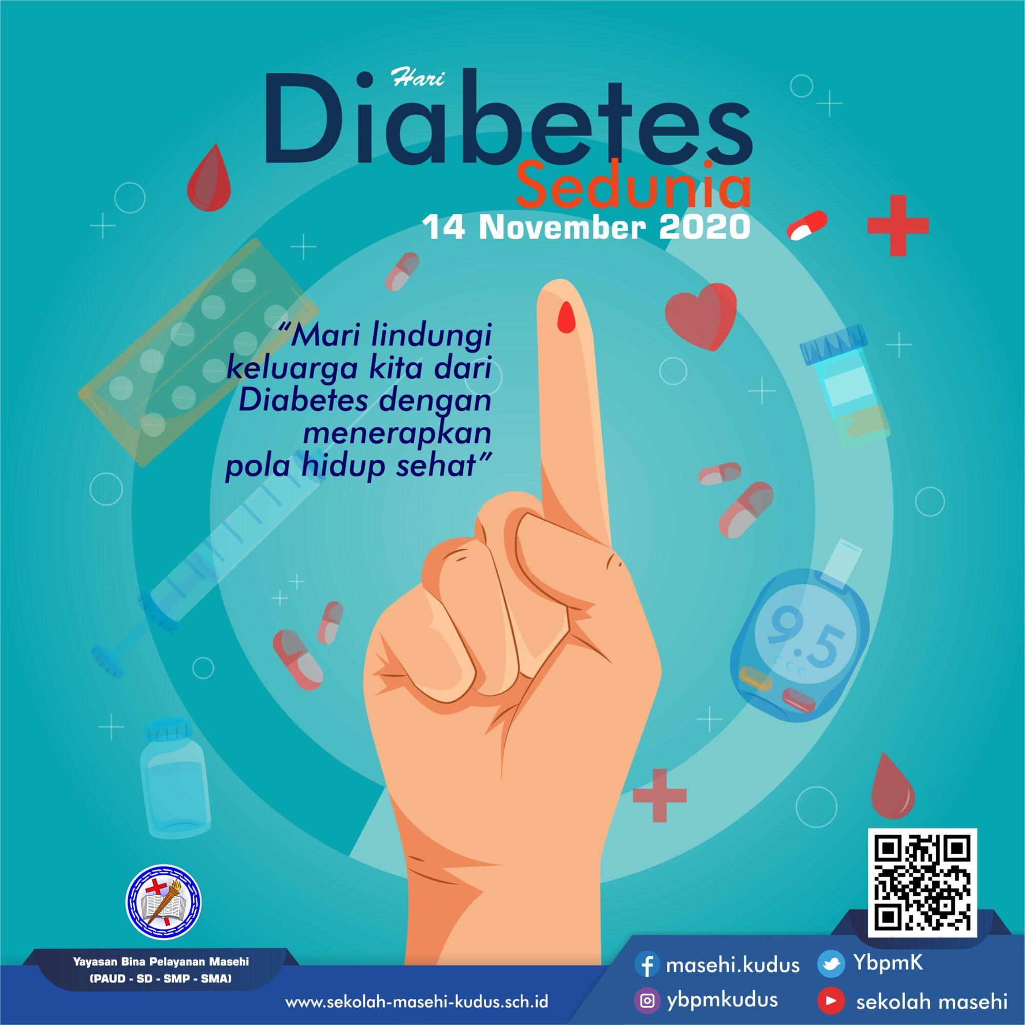 Selamat Hari Diabetes Sedunia