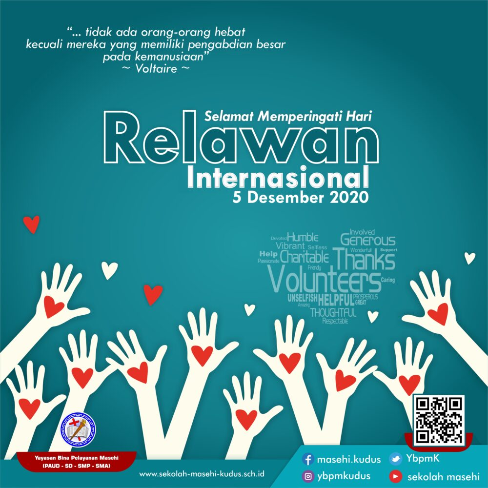 Selamat Hari Relawan Internasional