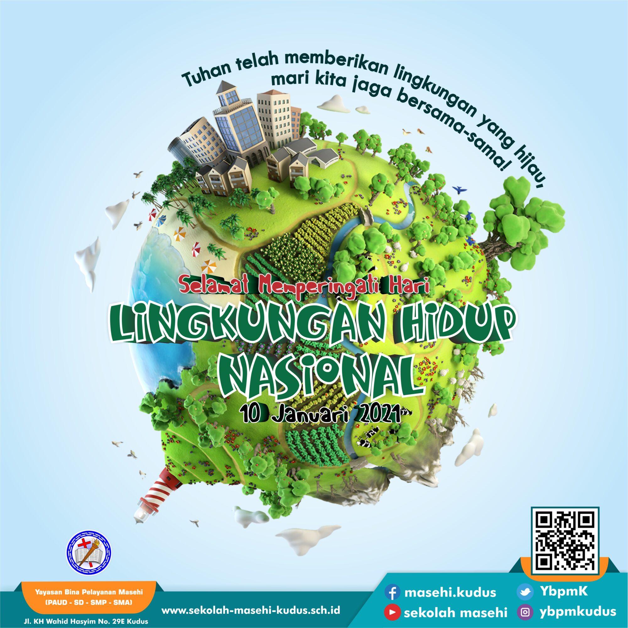 Selamat Hari Lingkungan Hidup Nasional