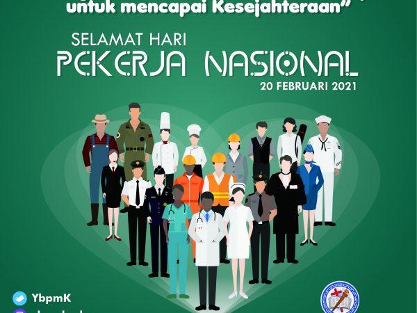 Selamat Hari Pekerja Nasional
