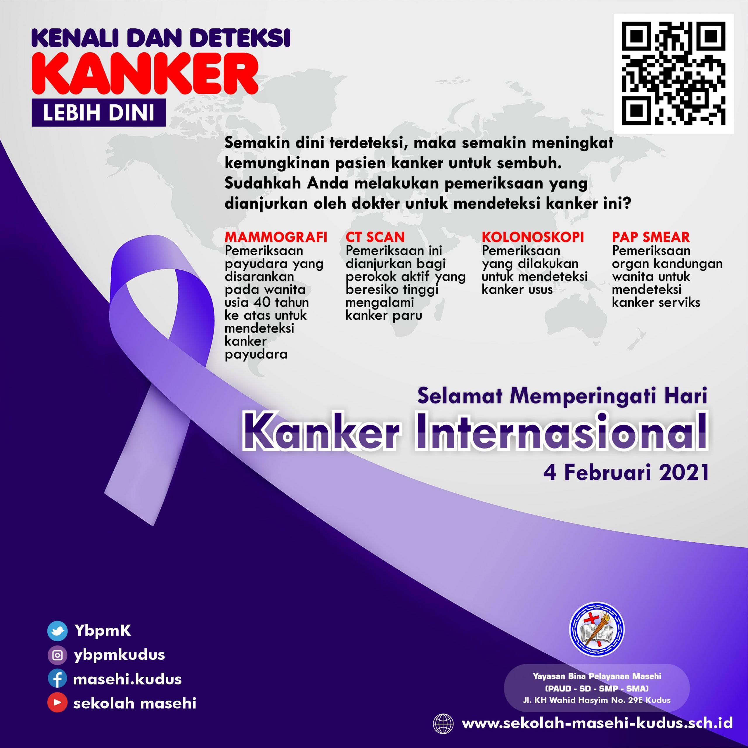 Selamat Hari Kanker Internasional