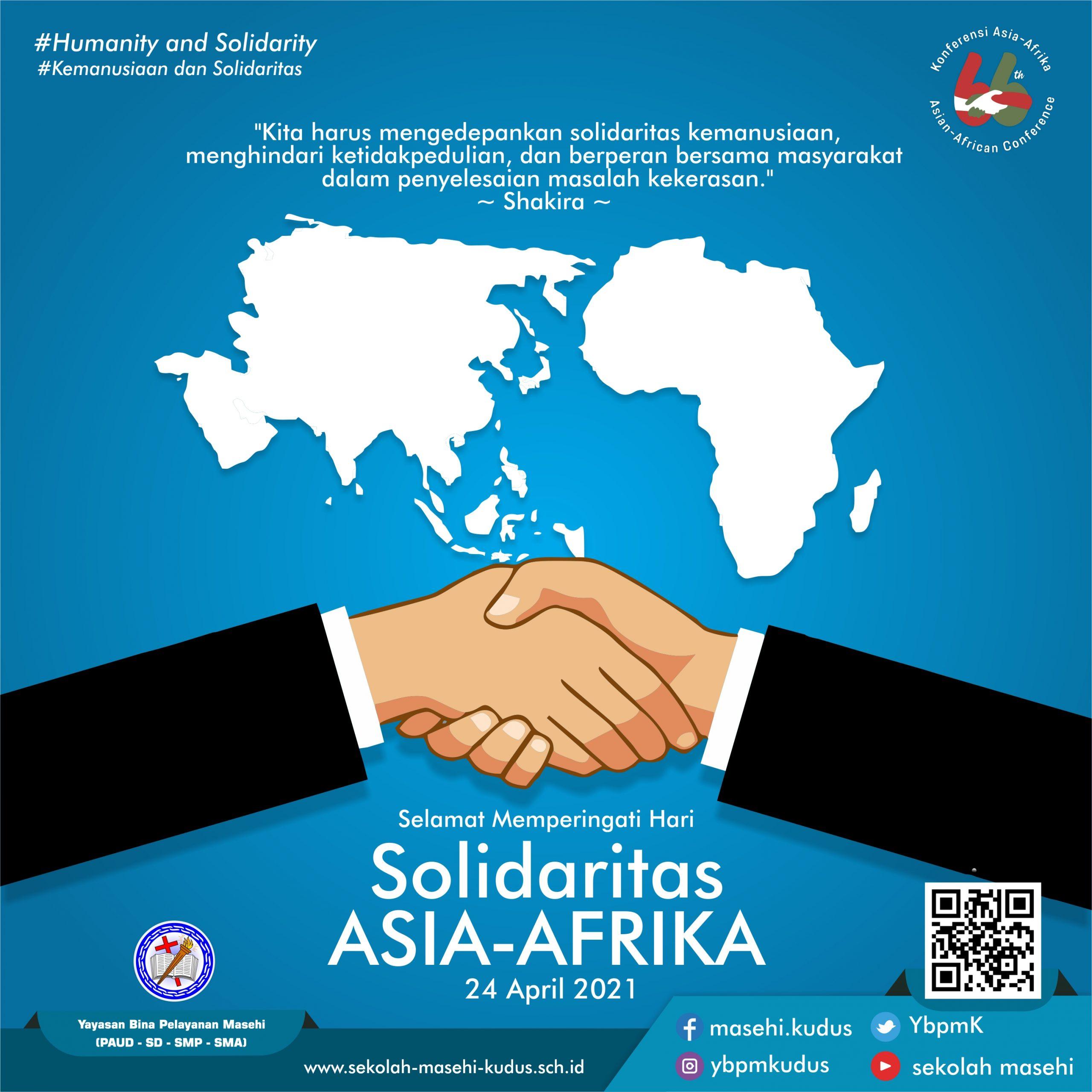 Selamat Memperingati Hari Solidaritas Asia-Afrika