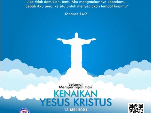 Selamat Kenaikan Yesus Kristus