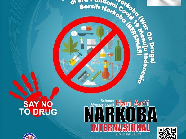 Selamat Hari Anti Narkoba Internasional