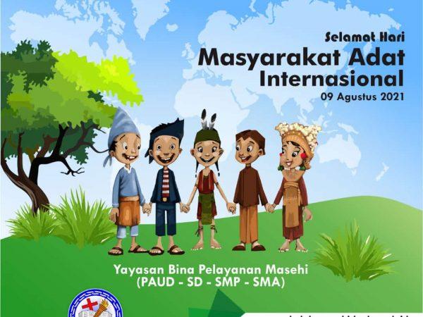 Selamat Hari Masyarakat Adat Internasional