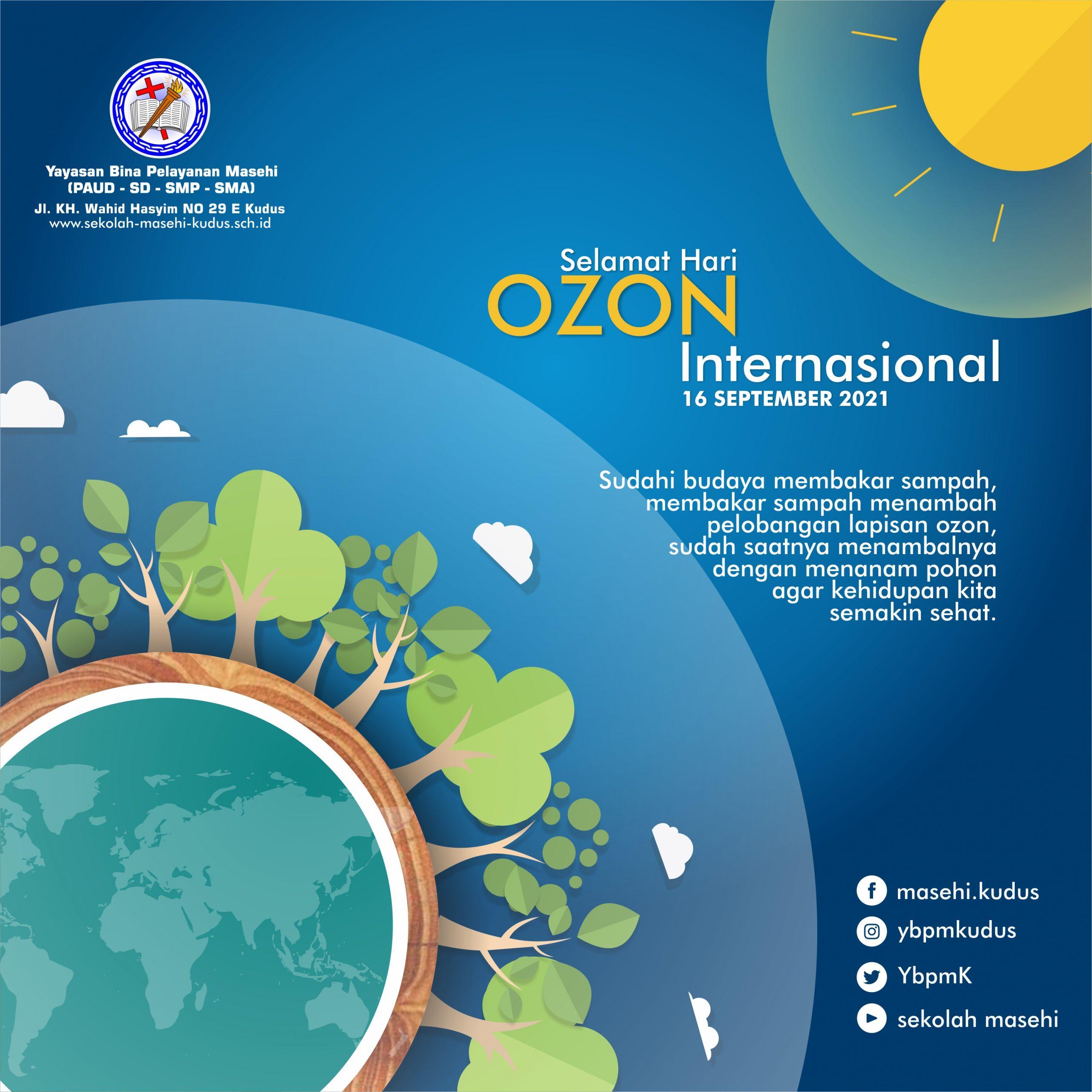 Selamat Hari Ozon Internasional
